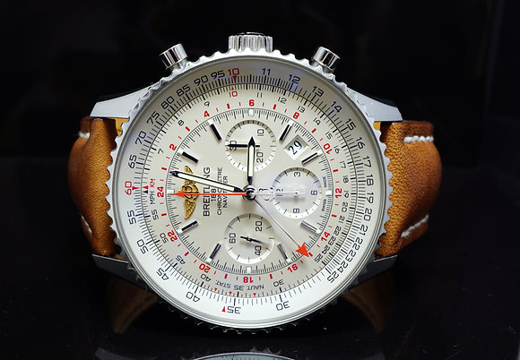 BREITLING 2016 48mm Navitimer GMT, AB044121, MINT, Box & Papers