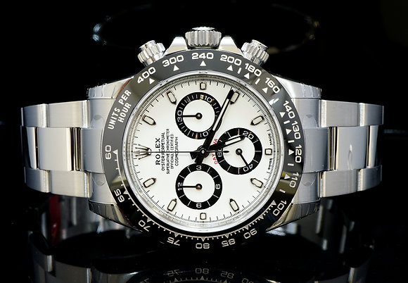 ROLEX 2017 Ceramic Daytona, 116500LN, UNWORN, Box & Papers