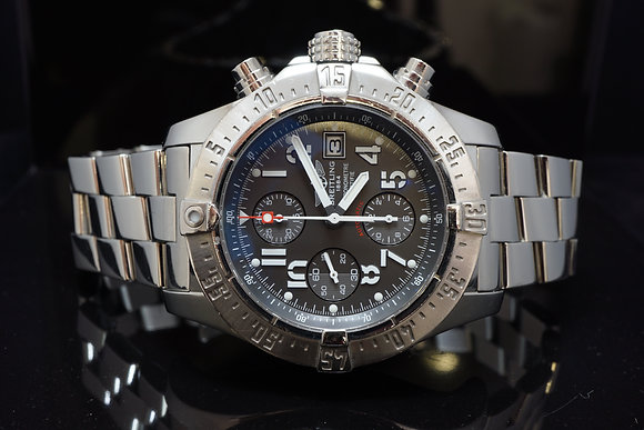 BREITLING Avenger Skyland, Steel, A13380, MINT, Box & Papers