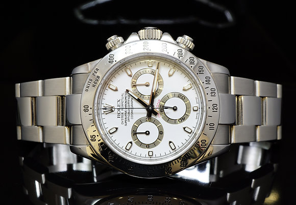 ROLEX 2007 Steel Daytona, 116520, Excellent, Boxed