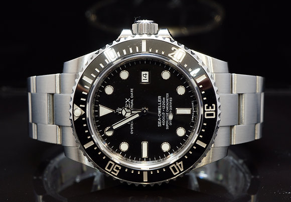 ROLEX 2016 Sea-Dweller 4000, 116600, Unpolished, Box & Papers