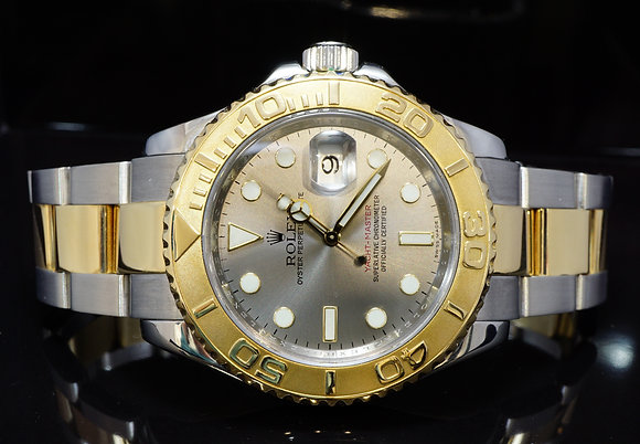 ROLEX 2008 Yacht-Master 40, Steel & Gold, 16623, MINT, Box & Papers