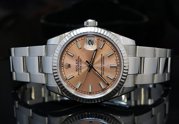 ROLEX Datejust 31mm, Mid Size, Stainless Steel