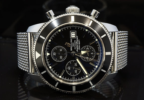 BREITLING 2016 Superocean Heritage Chronograph, A1332024/B908, Box & Papers