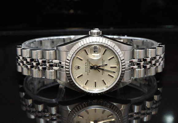 ROLEX 2001 Datejust 26, Steel,79174, Box & Papers