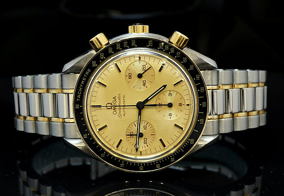 OMEGA Speedmaster, Steel & 18ct Gold, MINT