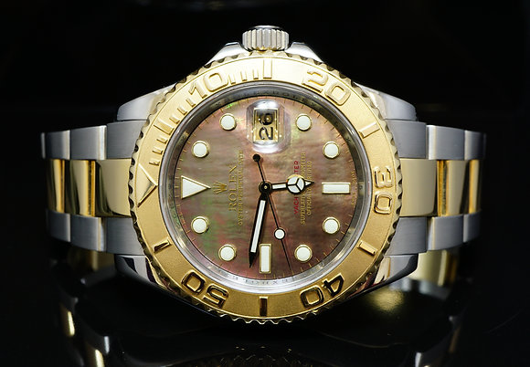 ROLEX 2008 40mm Steel & Gold Yacht-Master, 11613, MINT, Box & Papers