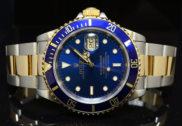 ROLEX 1994 Submariner, Steel & Gold, Box & Papers