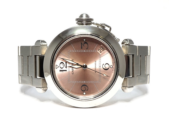 CARTIER 2006 Pasha C, W31075M, 2324, Boxed, Just Serviced