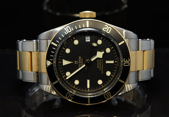 TUDOR 2017 Black Bay, Steel & Gold, 79733N, MINT, Box & Papers