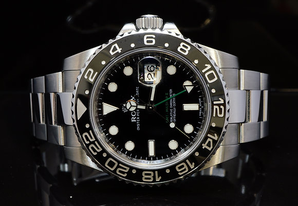 ROLEX 2011+ GMT Master 2, 116710LN, MINT, Boxed