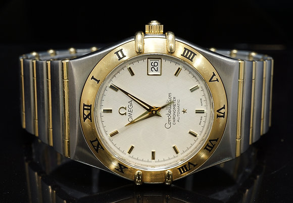 OMEGA 2003 Constellation, Steel & Gold, Auto, 12023000, Box & Papers