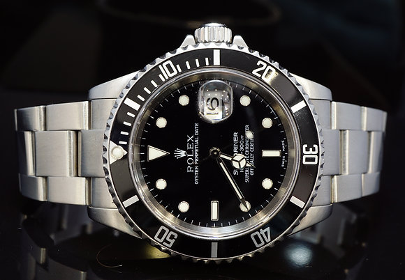 ROLEX 2004 Submariner Date, Steel, 16610, MINT, Box & Papers