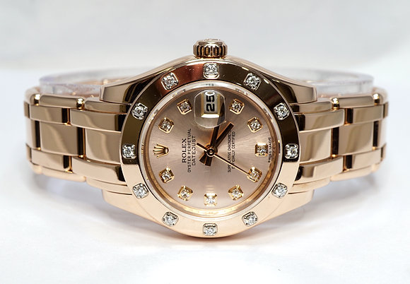 ROLEX 2011 Pearlmaster 29, 80315, Diamond Dial & Bezel, Box & Papers