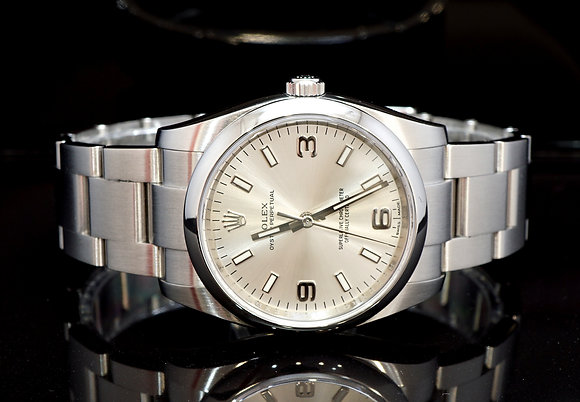 ROLEX 2017 Oyster perpetual 34, 114200, Steel, Box & Papers