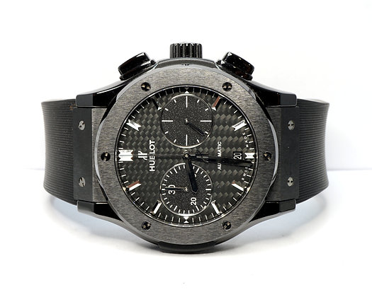 HUBLOT 2016 Classic Fusion Chrono Black Magic, 521.CM.1771.RX, with Papers