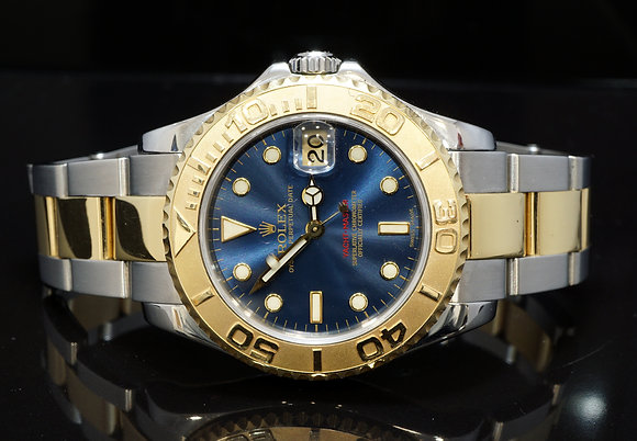 ROLEX 2000 35mm Yacht-Master, Steel & Gold, 168623, Boxed