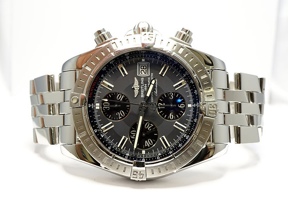 BREITLING 2008 Chronomat Evolution, A13356, MINT, Box & Papers