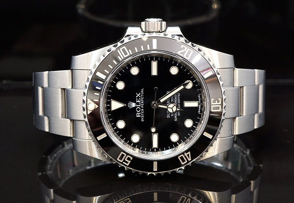 ROLEX 2017 Submariner Non Date, 114060, 2017, Box & Papers
