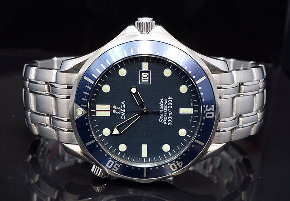OMEGA Seamster 41mm, Steel, 25418000, Boxed