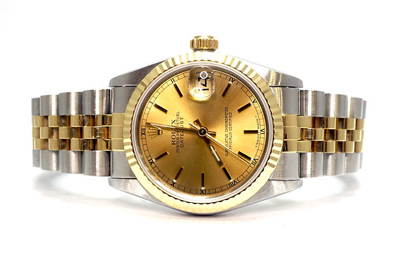 ROLEX 1996 Datejust 31, 68273, Steel & Gold, Jubilee Brcaelet, Box & Papers