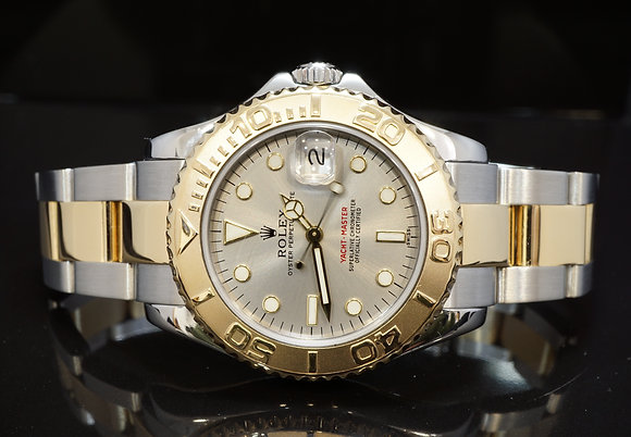 ROLEX 2000 Yacht-Master 35, Silver Dial, 68623, Box & Papers