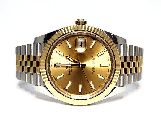 ROLEX 2016 Datejust 41, 126333, Steel & Gold, Jubilee Bracelet, Box & Papers
