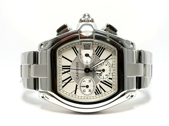 CARTIER Roadster Chrono, 2618, Auto, Box & Papers