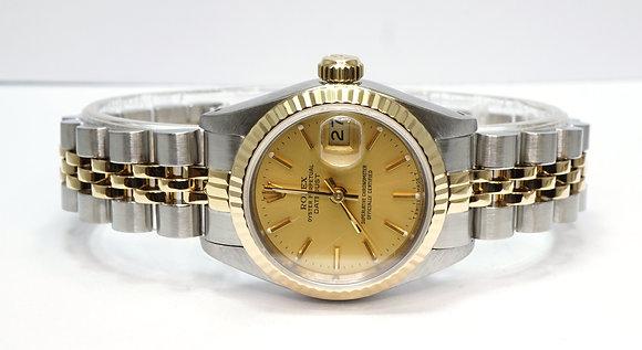 ROLEX 1987 Datejust 26, 69173, Steel & Gold, Jubilee, Boxed