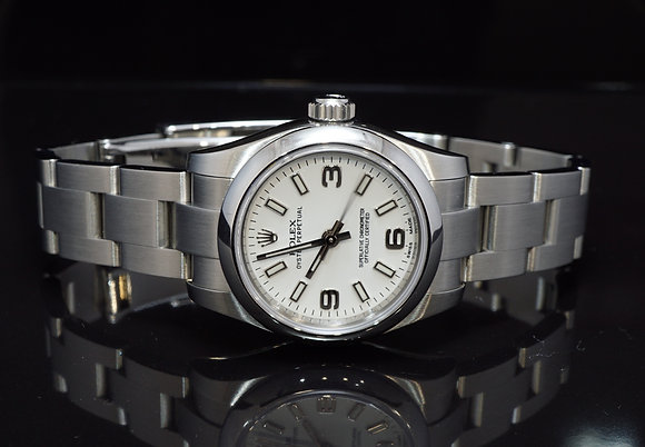 ROLEX 2017 Oyster Perpetual 26, 176200, Box & Papers