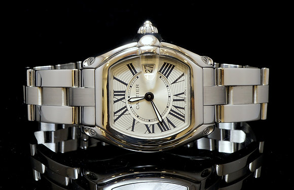 CARTIER Roadster Ladies, 2007, W62016V3, B & P
