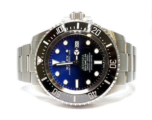 ROLEX 2020 Deepsea James Cameron, 126660, D-Blue, Box & Papers