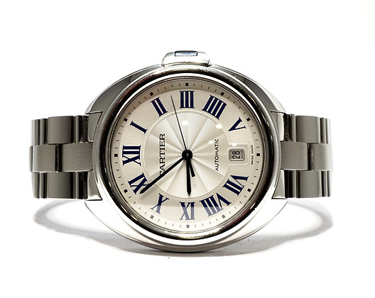 CARTIER 2017, Cle de Cartier, WSCL0007, Auto, Stainless Steel, with Papers