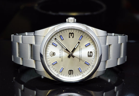 ROLEX 2015 34mm Oyster Perpetual, Steel, 114200, MINT,Box & Papers