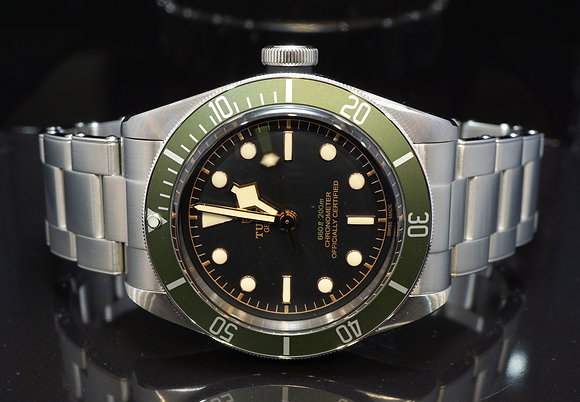 TUDOR 2019 Harrods Black Bay, 79230G, Special Edition, Box & Papers