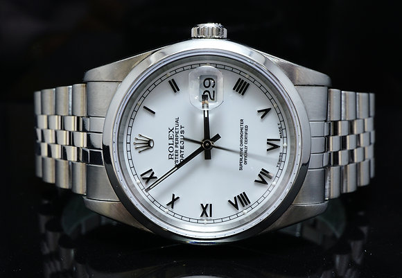 ROLEX 1989 36mm Datejust, Steel, MINT, Box & Papers
