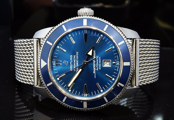 BREITLING 2016 SuperOcean Heritage 46, A1732016, Box & Papers