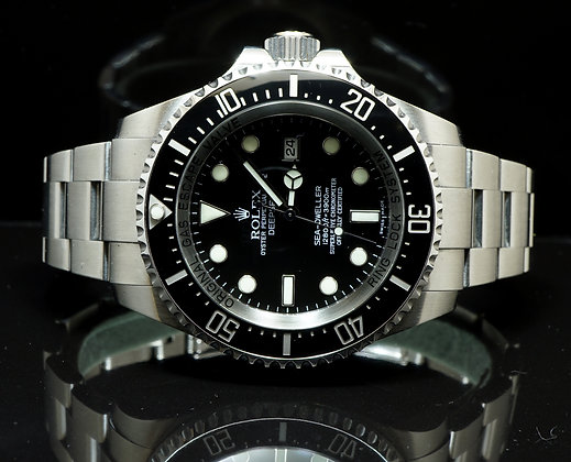 ROLEX 2008 Deepsea, 116660, MINT, B&P