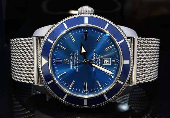 BREITLING 2016 46mm Superocean Heritage, A1732016, MINT, Box & Papers