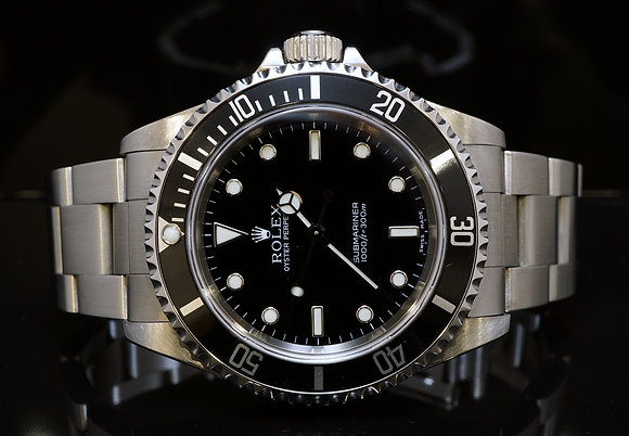 ROLEX 2002 Submariner Non Date, 14060M, MINT, Box & Papers