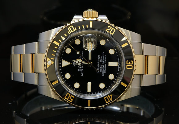 ROLEX Steel & Gold Submariner, 2013, Box & Papers