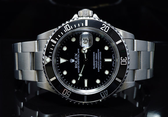 ROLEX 2006 Submariner, Steel, 16610, MINT, Box & Papers
