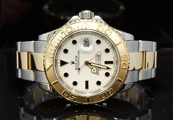 ROLEX 2007 Yacht-Master 40, Steel & Gold, 16623, Box & Papers