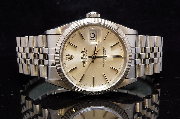 ROLEX Datejust Gents 16234, Stainless Steel, B & P