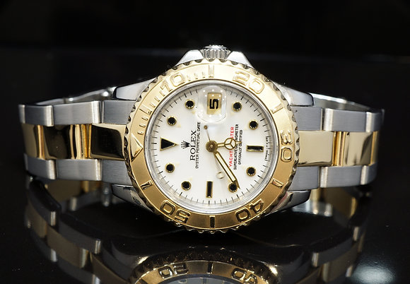 ROLEX 1998 29mm Yacht-Master, Steel & Gold, 69623, Boxed