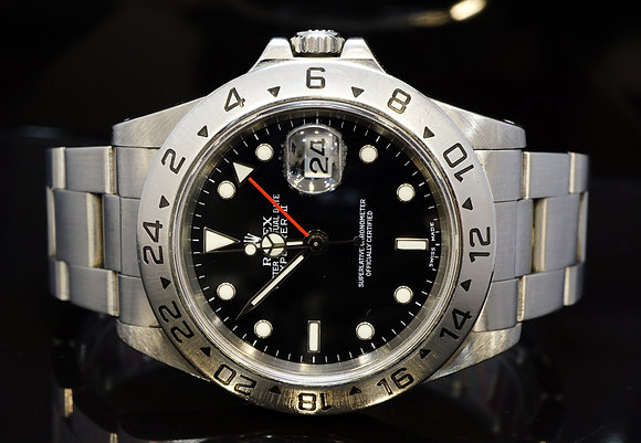 ROLEX 1999 Explorer 2, Stainless Steel, 16570