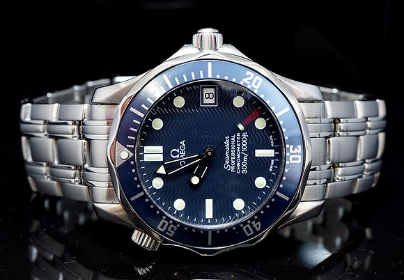 OMEGA 36mm Seamaster 300m, 02551.80,Boxed, Excellent Condition