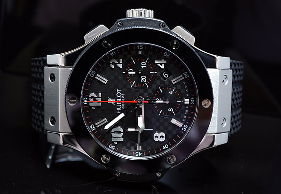 HUBLOT Big Bang, Auto,301.SB.131.RX , Serviced may 2017, Boxed