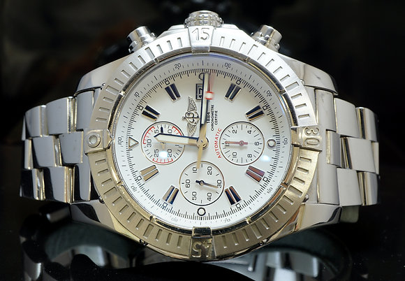 BREITLING 2009 Super Avenger, A1337011, Box & Papers