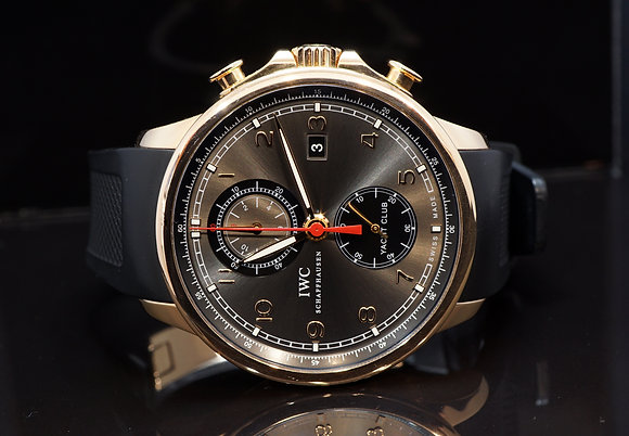 IWC 2011 Portuguese Yacht-Club, 18ct Rose Gold, IW390202, Box & Papers